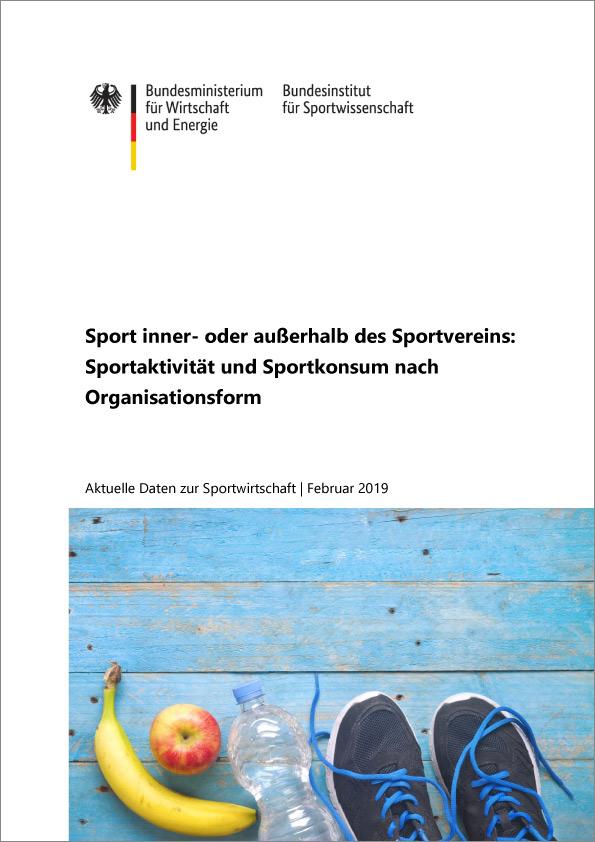 BISp Sport inner oder ausserhalb des Sportvereins 2019