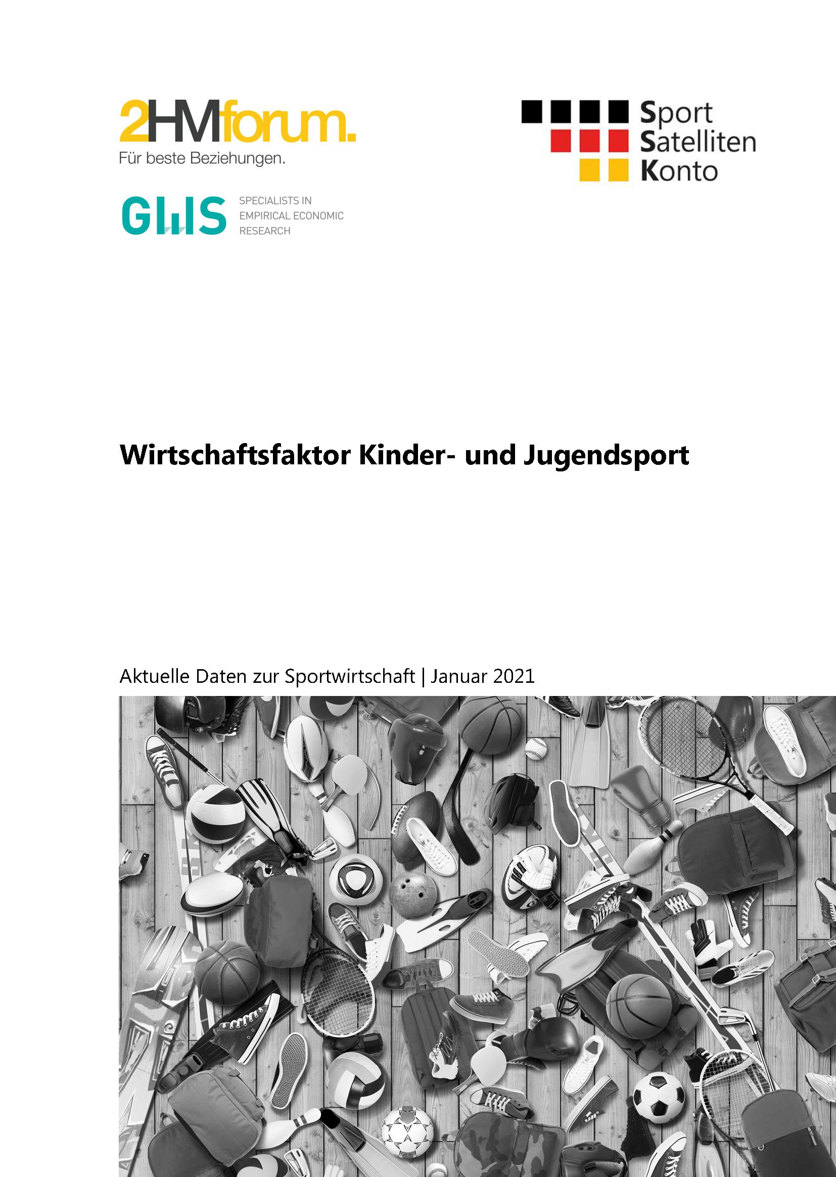 """Cover: """"Wirtschaftsfaktor Kinder- und Jugendsport"""""""